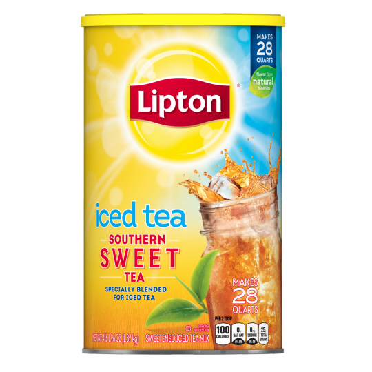 PNG - Lipton Sweetened Ice Tea Southern Sweet 28 QT