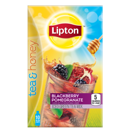 PNG - Lipton US- Lipton Tea and Honey Iced Green Tea To Go Packet