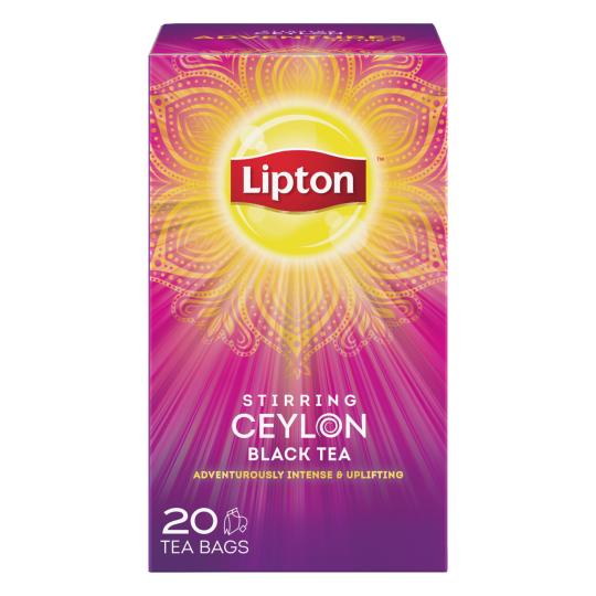 PNG - Lipton US - Lipton Black Tea Bags Stirring Ceylon 20 ct