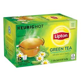 Lipton US- LPT K-Cup GRN Tea W/CHAM + Mint