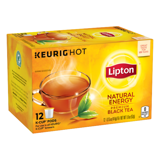 Lipton US- LPT K-Cup Natural Energy