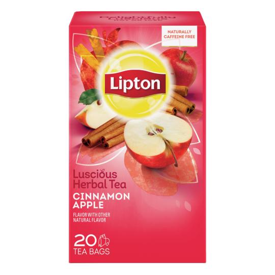 PNG - Lipton US Lipton Tea Herbal Apple Cinnamon